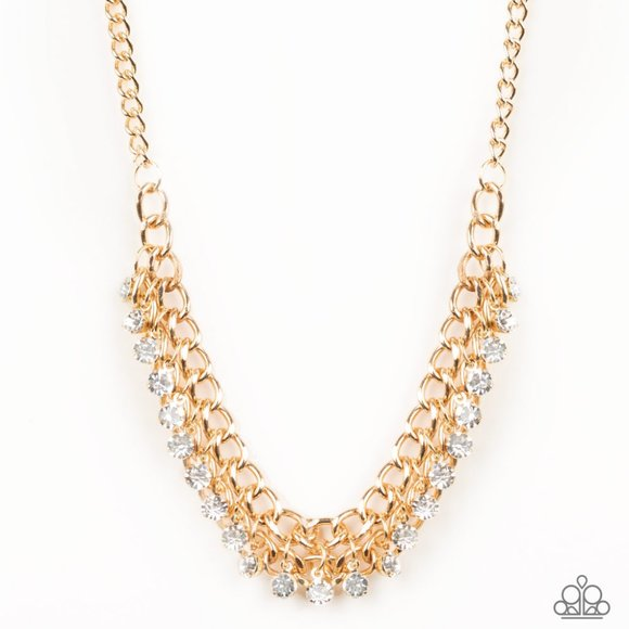 Glow and Grind - Gold Necklace Set # 385